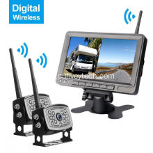 Wireless Digital Backup Camera Monitor System 7inch